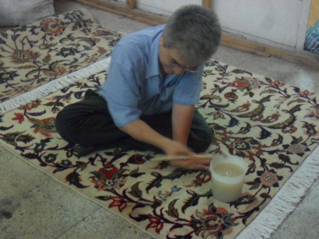 Teppich-Wasserschaden